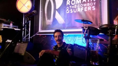 Leo Romand - Bassist for Romain and The Cowboy Surfers - LOFT33 _ 2
